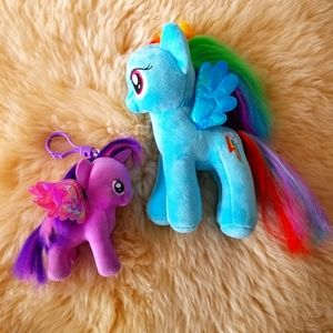 ⭐HOST PICK⭐ TY My Little Pony Plush Bundle
